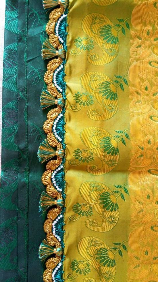 Latest Simple Pattu & Silk Saree Kuchulu - Fashion Beauty Mehndi Jewellery Blouse Design