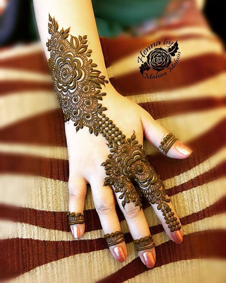 Best Mehndi Designs For Hands Arabic