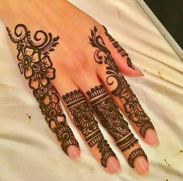 Finger Henna Designs Mehndi Designs For: Best Arabic Henna Design For Fingers