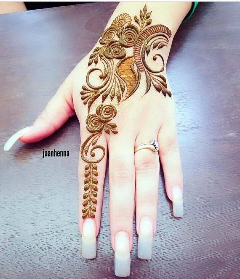 Best Arabic Henna Design For Fingers Fashion Beauty Mehndi