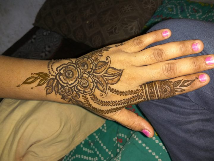best arabic henna design for fingers   fashion beauty