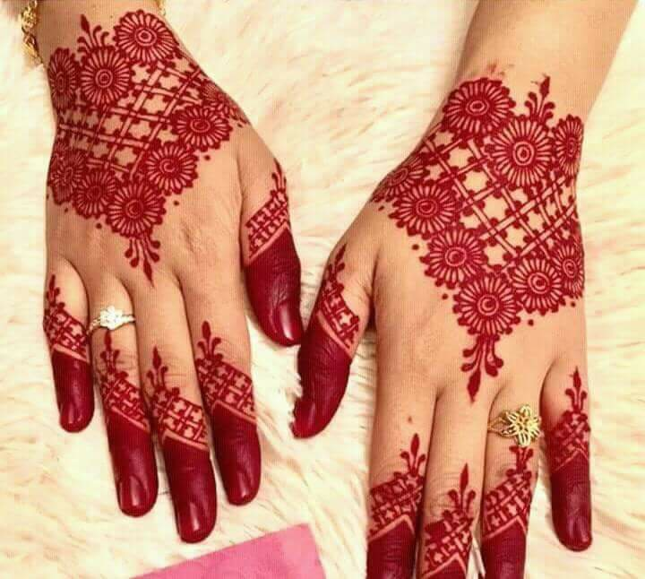 Stylish Unique Mehndi Designs: Best 13 Back Hand Unique Mehndi Designs For Party