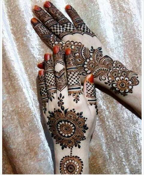 Best 13 Back Hand Unique Mehndi Designs for Party , Fashion