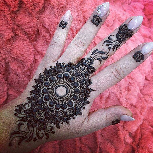 Best 13 Back Hand Unique Mehndi Designs For Party Fashion Beauty Mehndi Jewellery Blouse Design