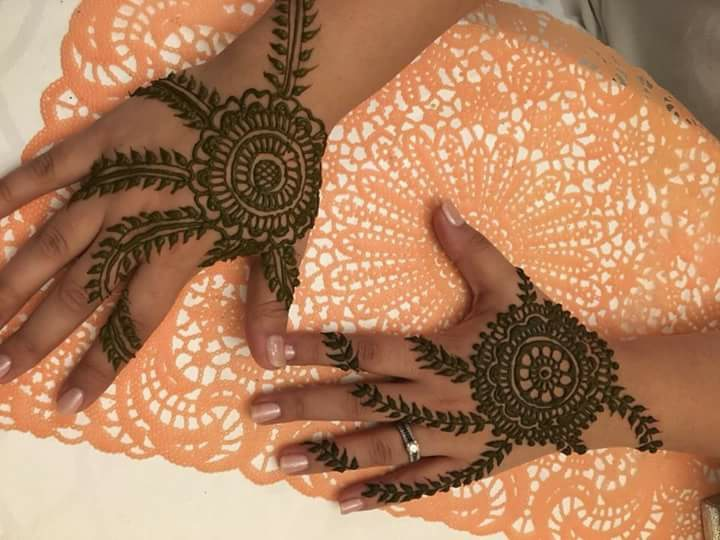 Mehndi Hand Image : Best back hand unique mehndi designs for party fashion beauty