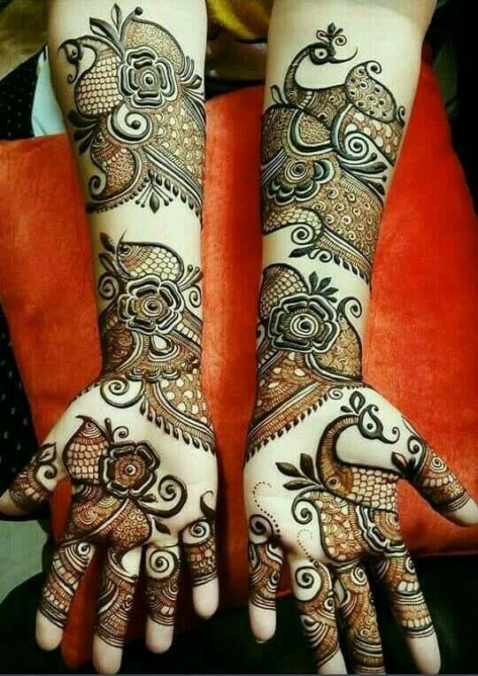 Creative Henna Floral Designs On Hands Fashion Beauty Mehndi