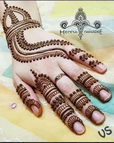 Best Beautiful Finger Henna Designs Fashion Beauty Mehndi