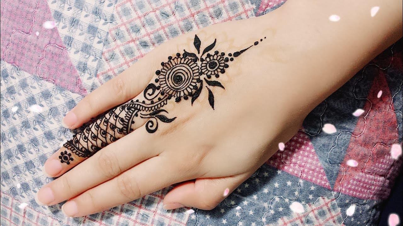 Best Beautiful Finger Henna Designs