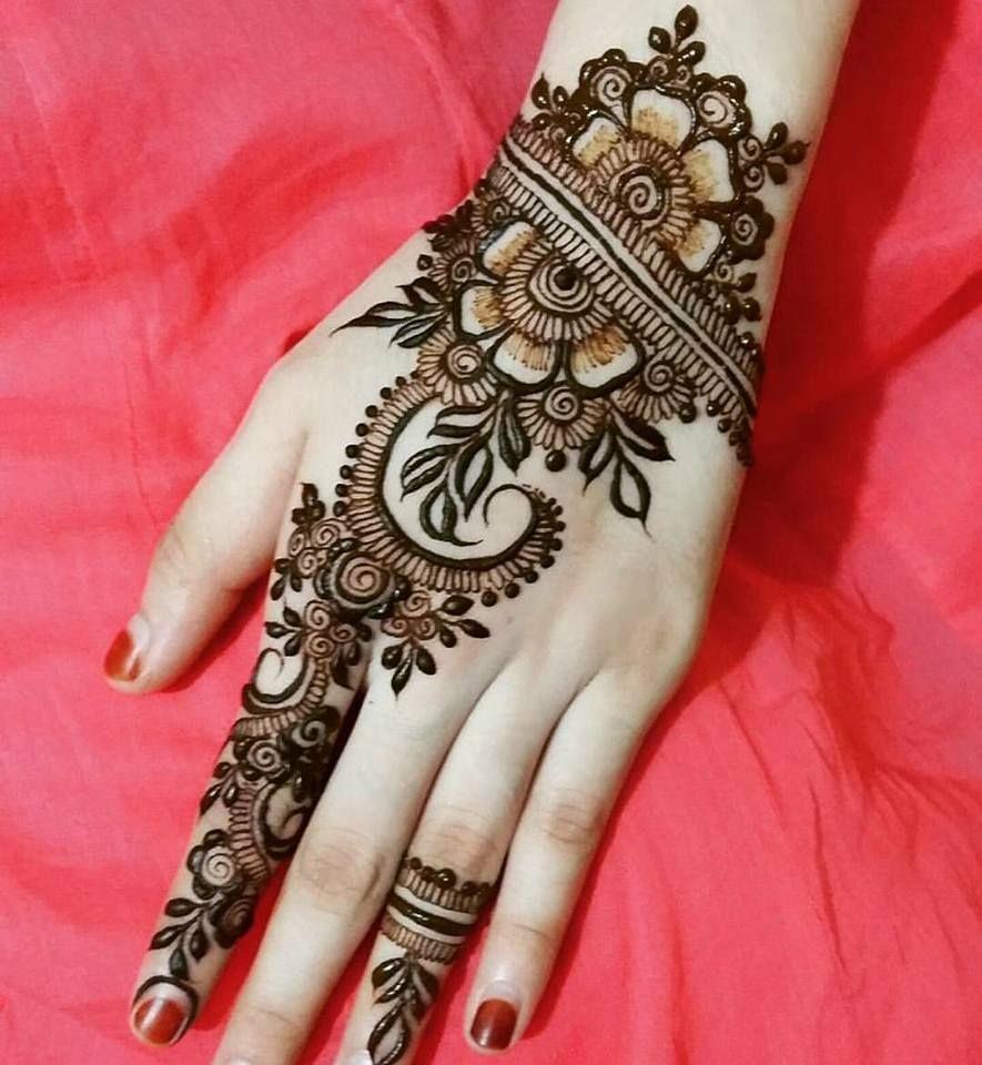 Mehndi Henna Mehndi Designs: Best Beautiful Finger Henna Designs