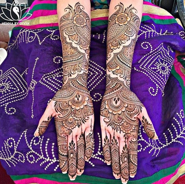 New Bridal Mehndi Designs