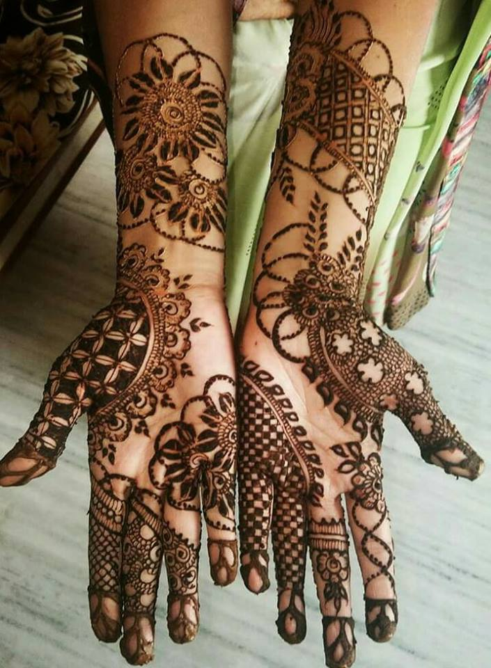 Famous Bridal Mehndi Design For Ladies Fashion Beauty