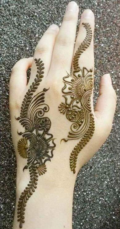 Finger Henna Designs Pictures Fashion Beauty Mehndi Jewellery