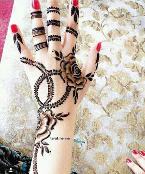Best 15 Floral Style Back Hand Henna Designs Fashion Beauty