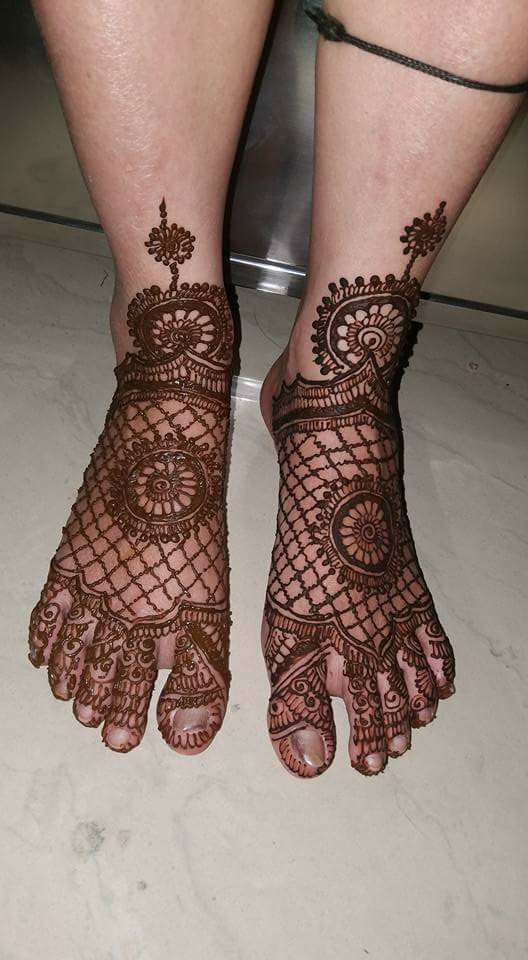 floral style foot amp leg mehndi designs fashion beauty