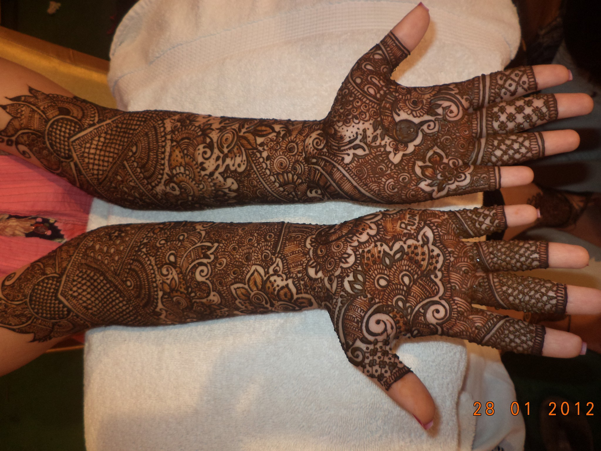 Mehndi Hand Image : Full hand mehndi art ideas for girls best fashion beauty