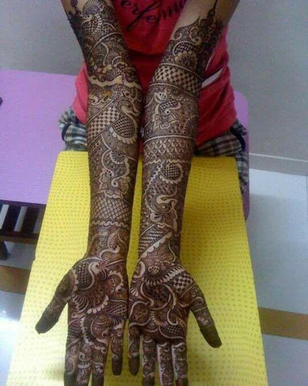 Full Hand Mehndi Art Ideas For Girls Best 14 Fashion