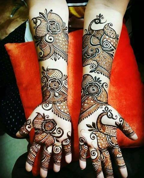 Full Hand Mehndi Art Ideas For Girls Best 14 Fashion