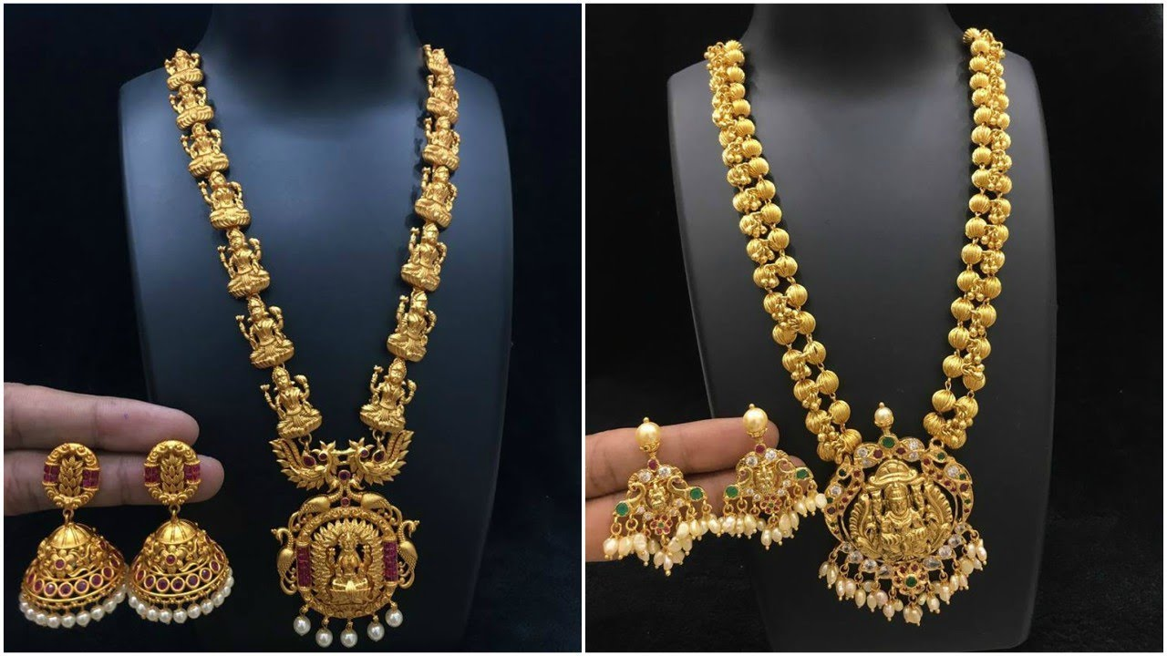 pin mini haram designs latest gold jewellery desisgns
