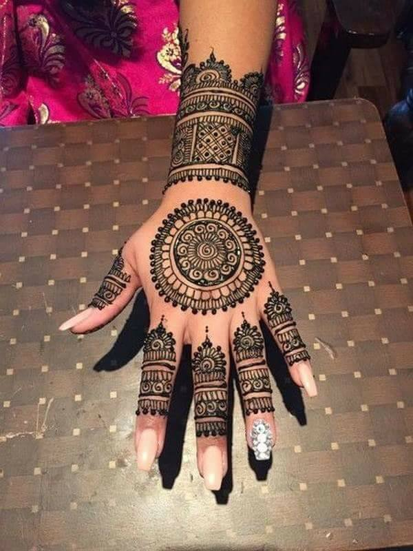 good engagement mehndi designs for fingers fashion