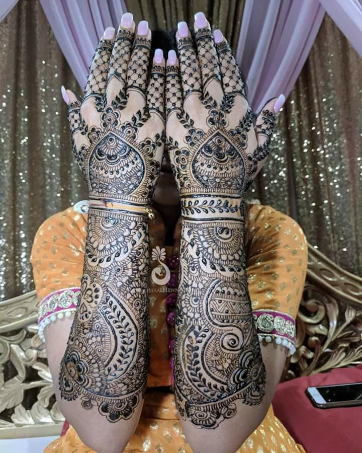 New Mehndi Full Hands Design
