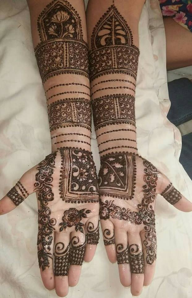 New Arabic Mehndi Patt...