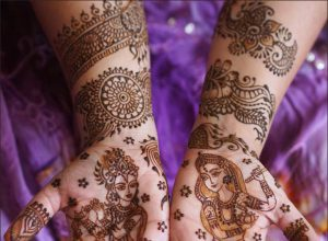 Mehndi For Pair : Flower mehndi design archives page of fashion beauty