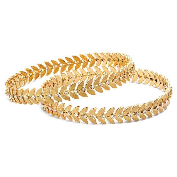 Gold Bangles Design Fashion Beauty Mehndi Jewellery