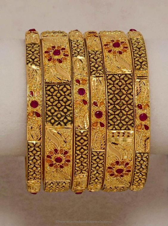 Ring bracelet mehndi design