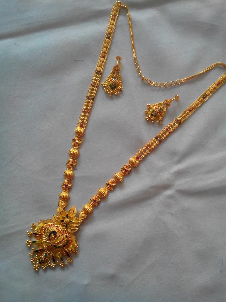 Best Gold Long Chain Jewellery Designs Fashion Beauty