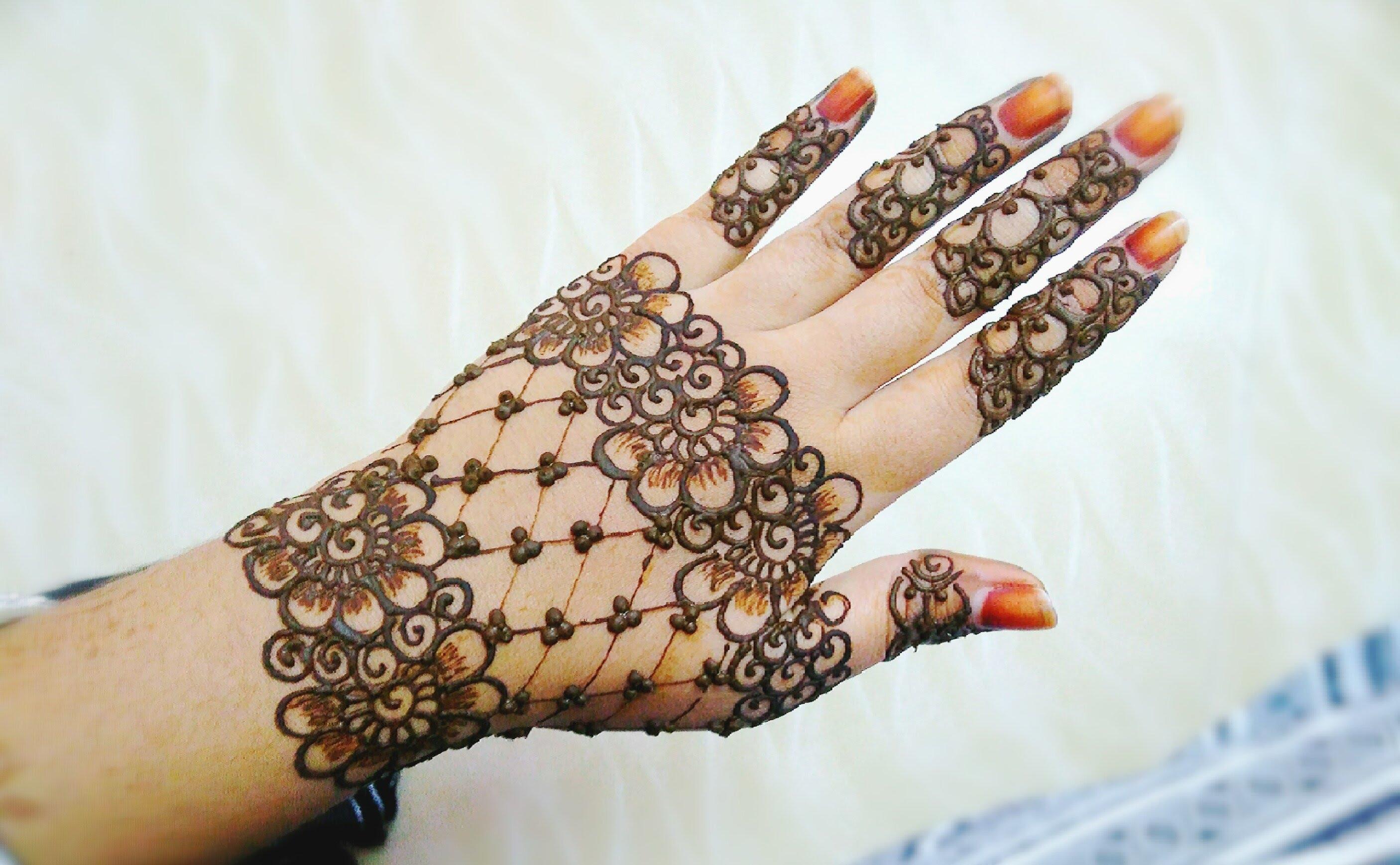 Best Jewellery Mehndi Designs