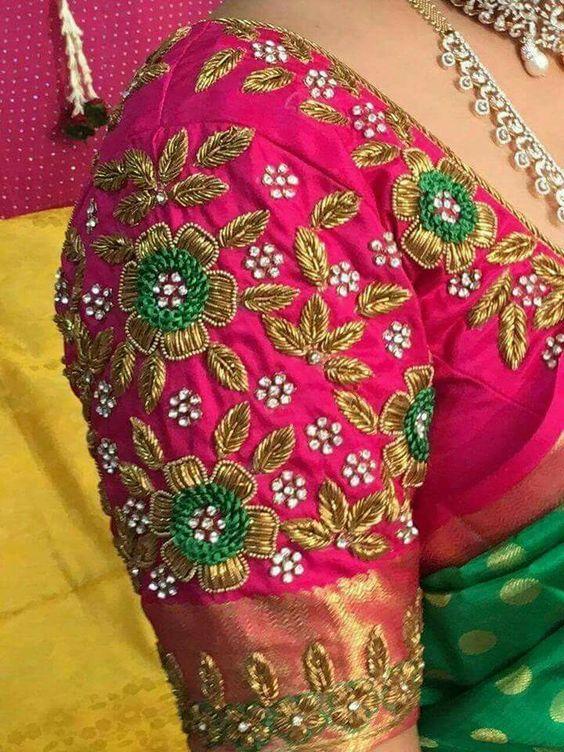 Trendy Blouse Hand Designs Fashion Beauty Mehndi