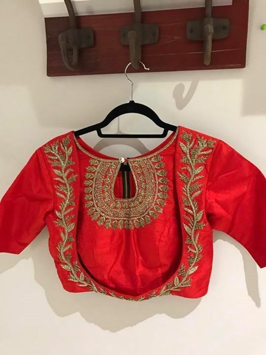 Different Types Of Blouse Back Neck Designs Fashion