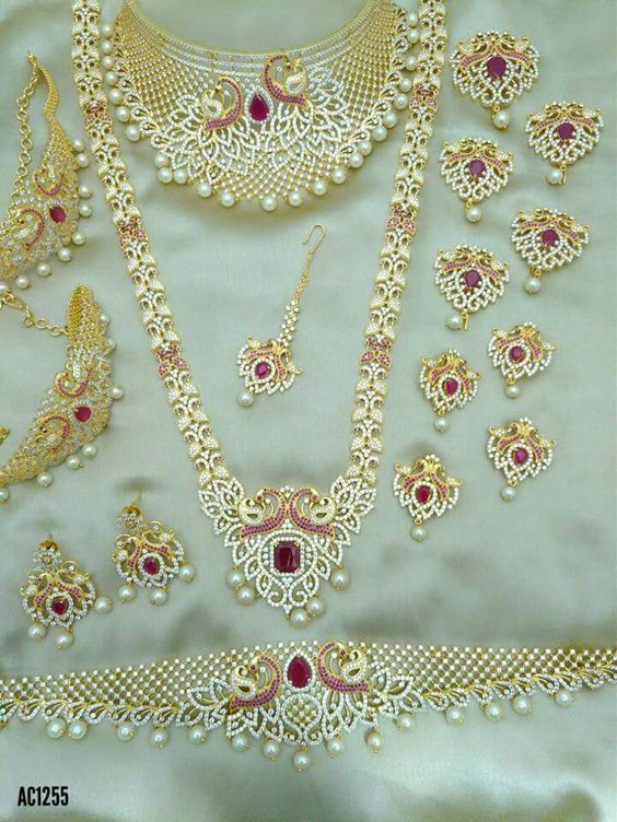 Indian bridal jewellery sets Fashion Beauty Mehndi Jewellery