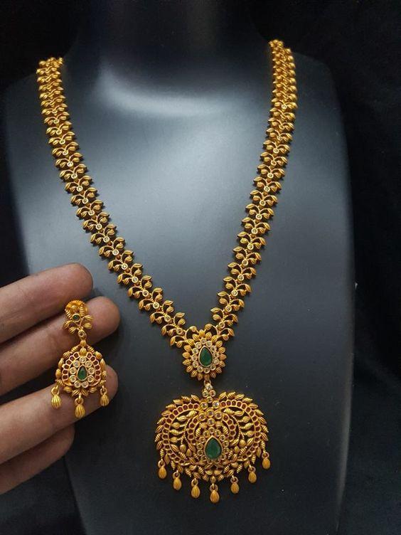 Top 10 Gold Long Chain Design Fashion Beauty Mehndi