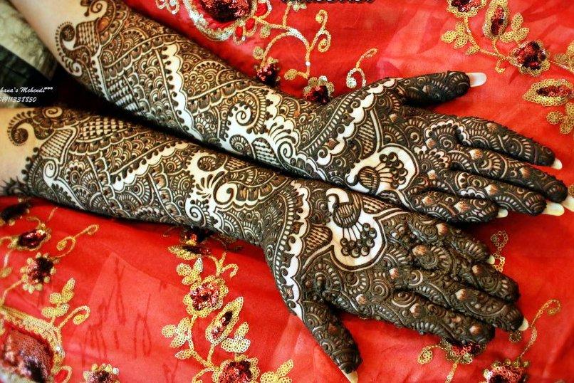 Bridal Mehndi Full Hand Designs : Wedding mehendi designs for full hands fashion beauty mehndi