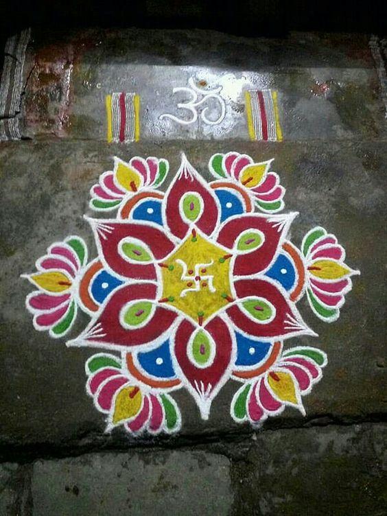 top most easy rangoli designs