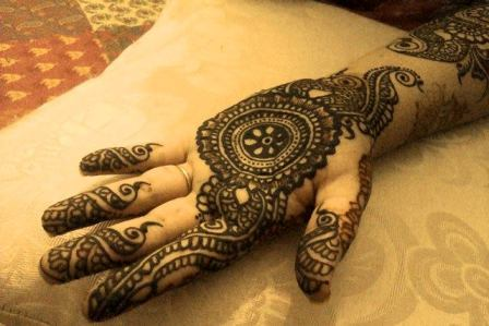 Front Hand Henna Mehndi Design : Best collective designs for front hand mehendi fashion