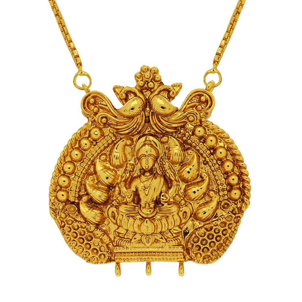 New Latest Traditionally Designed Gold Necklece Fashion