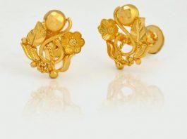 Pure Gold Ear Tops Designs