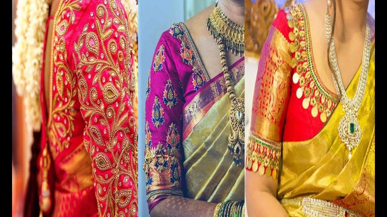 Different Blouse Hand Designs Fashion Beauty Mehndi