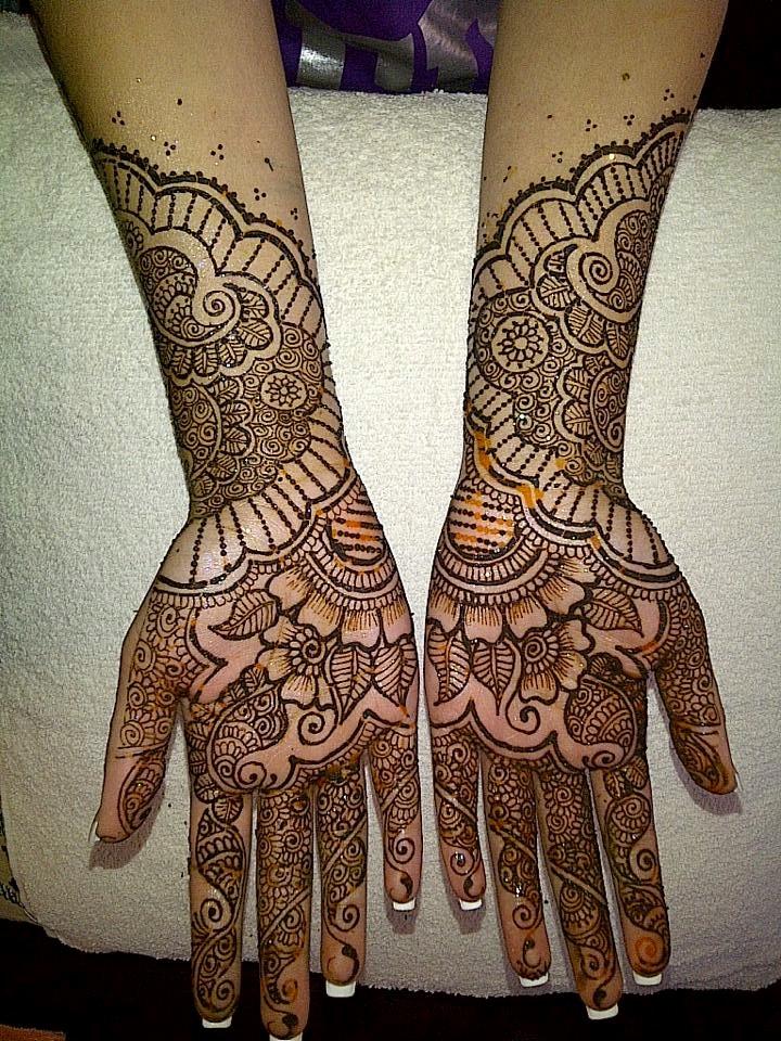 Both Hands Mehendi Designs Fashion Beauty Mehndi Jewellery Blouse Design