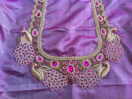 Peacock Blouse Designs Archives Fashion Beauty Mehndi