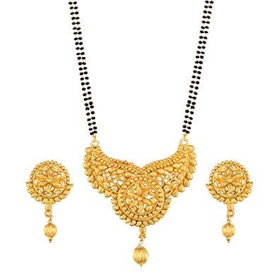 Long Gold Mangalsutra Designs Fashion Beauty Mehndi