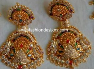 Rajputi New Ear Rings Designs Fashion Beauty Mehndi Jewellery
