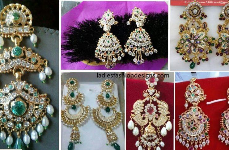 Rajputi Earrings Designs Archives Fashion Beauty Mehndi