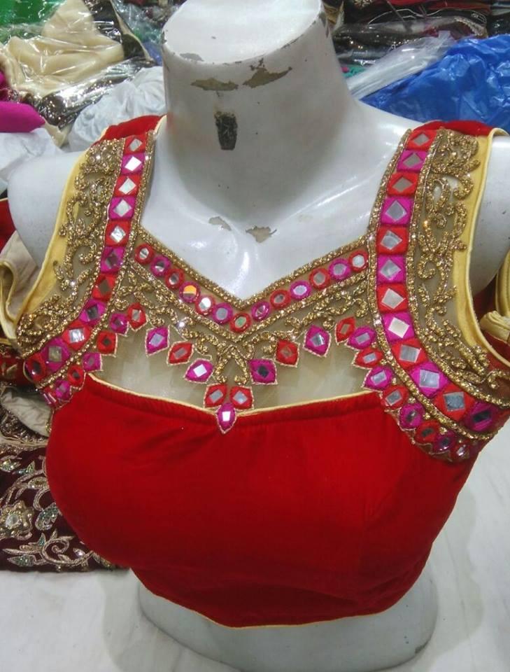 Simple Blouse Designs Catalogue Fashion Beauty Mehndi