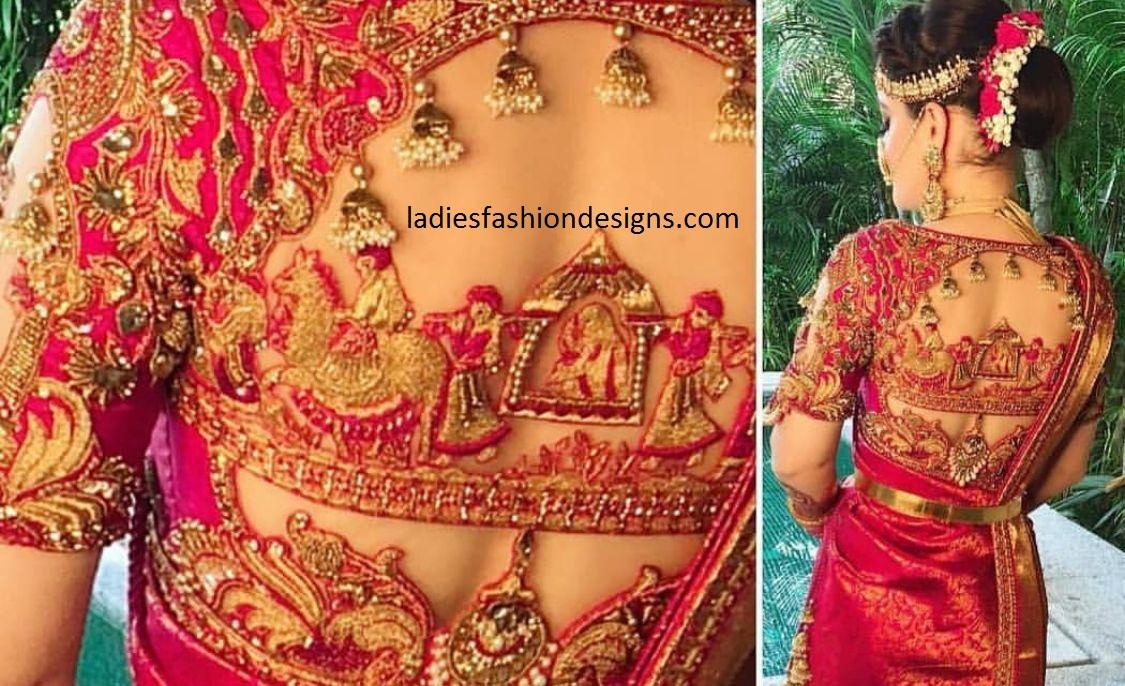 Wedding Heavy Style Blouse Patterns