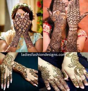 Trendy Back Hand Mehandi Designs Fashion Beauty Mehndi Jewellery