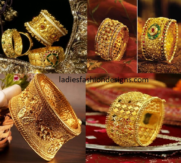 Awesome Broad Kada Bangle Designs