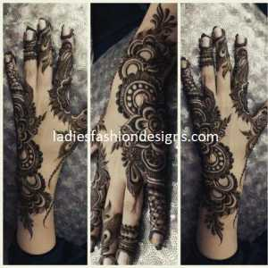 Beautiful Henna Mehndi Designs For Back Hands Fashion Beauty